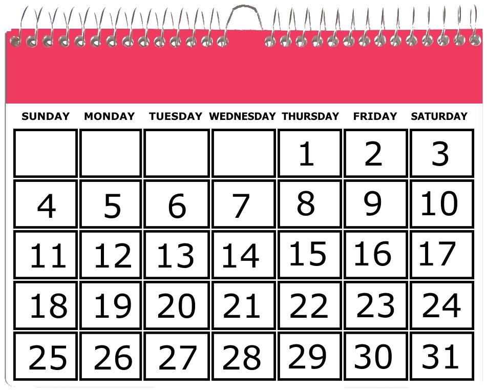 1984 Calendar